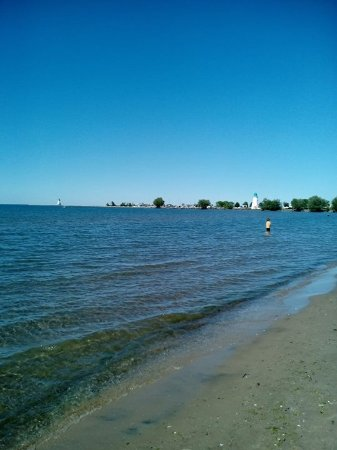 St. Catharines, Καναδάς: Gorgeous Beach and lighthouses