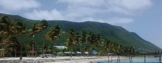 La Desirade, جوادلوب: plage fifi vue en longueur