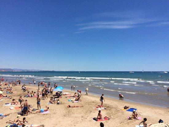 Playa de la malvarrosa foto di playa de la malvarrosa for Spiaggia malvarrosa valencia
