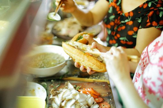 Photo of Fast Food Restaurant Banh Mi Phuong at 2b Phan Châu Trinh, Hoi An 0510, Vietnam