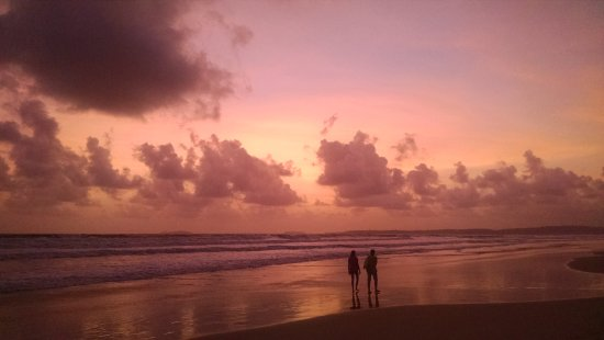 Park Hyatt Goa Resort and Spa: The Sunset view right at the private beach of the hotel