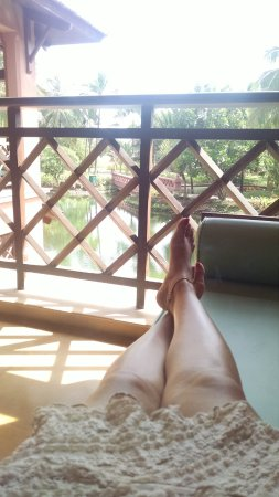 Park Hyatt Goa Resort and Spa: A relaxing afternoon view from the room balcony