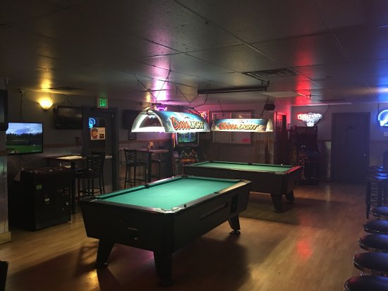 In The Zone Sports Bar U0026 Grill: Pictures Of The Bar With Several Pool Tables