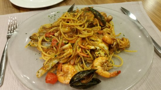 Usmate Velate, Италия: spaghetti allo scoglio