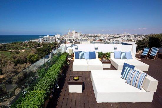 Melody Hotel   Tel Aviv - an Atlas Boutique Hotel: Melody Sun Terrace