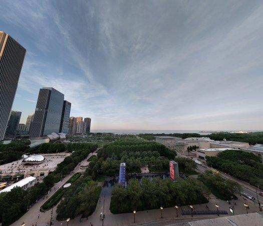 Millennium Park: View of the park