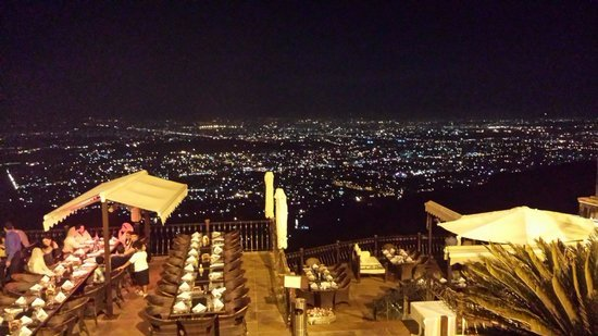 La Montana: City view from top