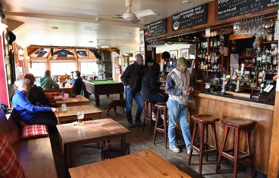 Knoydart, UK: June 2016 The Old Forge..... Busy busy busy