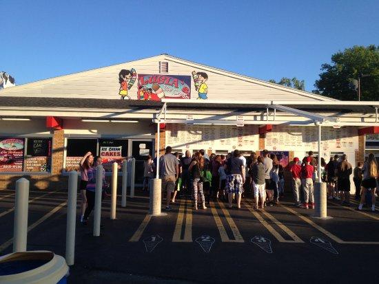 Spencerport, NY: Luigias - ice cream stand