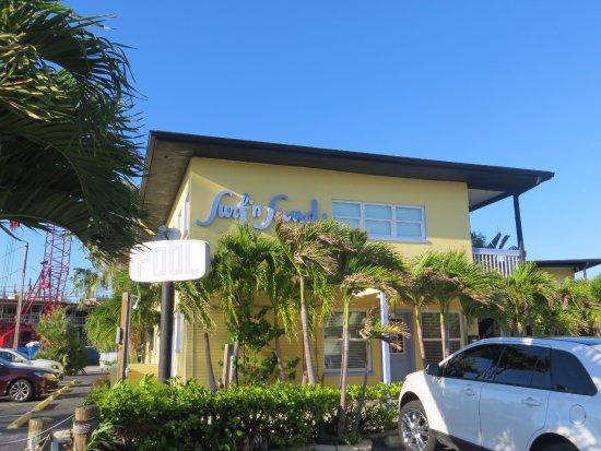 Surf n' Sand : Außenansicht des Hotels