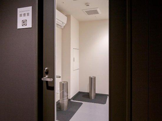 karaksa hotel Osaka Shinsaibashi I: Designated smoking space