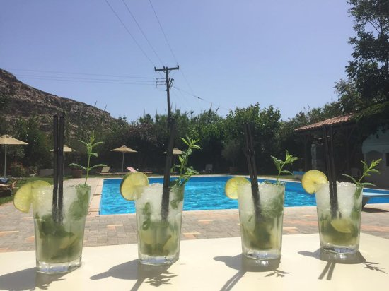 Matala Bay Hotel : Nice Mojitos from Jannis!!!