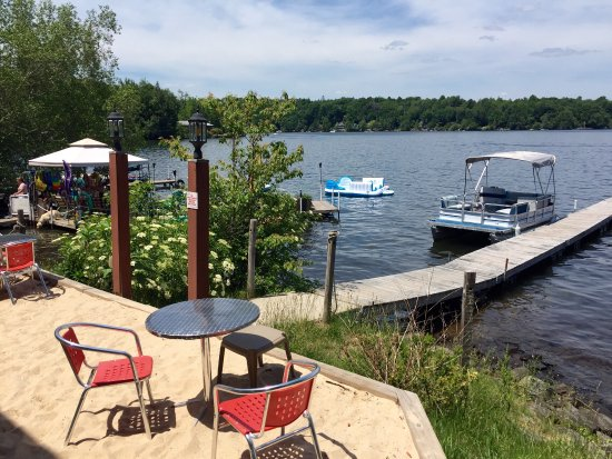 White Lake, Nova York: Lunch on the lake