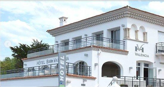Hotel Valencia : façade de l'hôtel