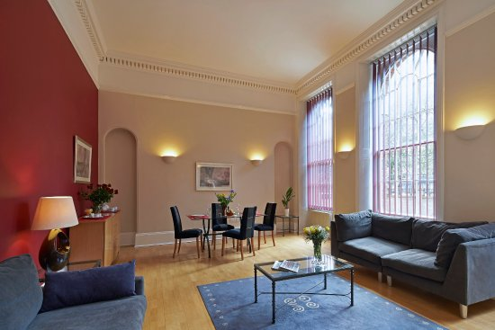 Citadines St Marks Islington London Living Room Of 1 Bedroom Apartment