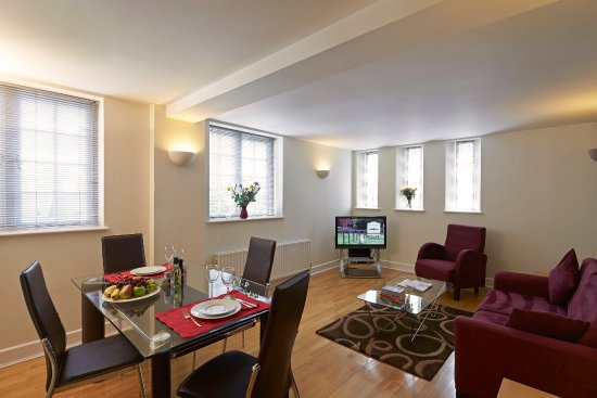 Citadines St Marks Islington London Living Room Of 1 Bedroom Apartment Executive