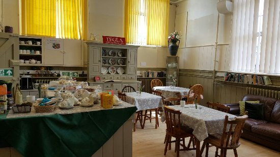 Denbighshire, UK: Llandegla community shop and coffee shop