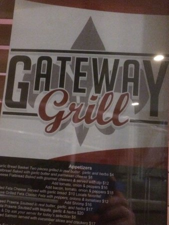The name of the restaurant