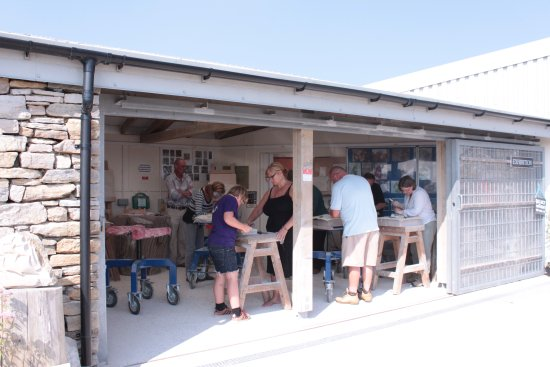 Langton Matravers, UK: Burngate Stone Carving Centre