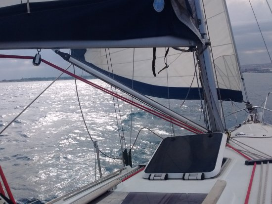 Sicily Sailing Experience: On the way home
