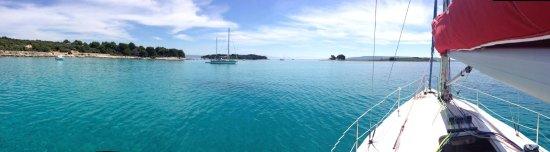 Далмация, Хорватия: Day sailing trip . www.trogir-sailing.com