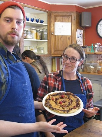 Monterey, MA: Award-winning pancakes are a team effort!