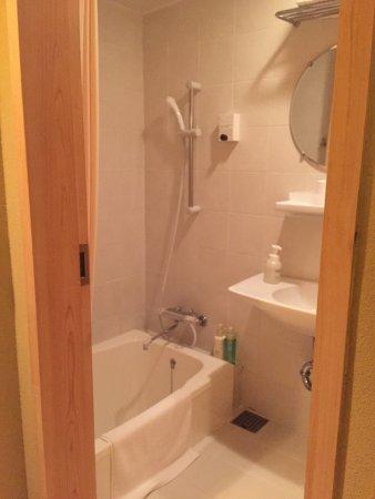 Kyomachiya Ryokan Sakura Honganji: Shower room