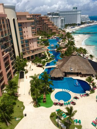 Grand Fiesta Americana Coral Beach Cancun: Best view ever