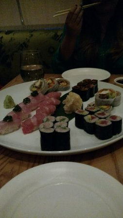Nobu sushi ala carte.