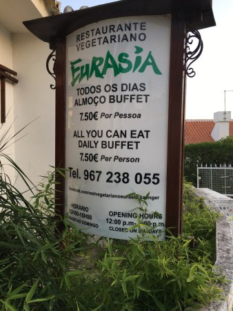 Eurasia: Unfortunately only open for lunch...