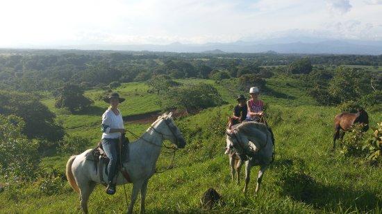 Playa Las Lajas, Panamá: Horseriding tour
