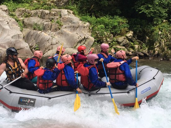 The two rafting team picture of aguaraja bagni di lucca - Rafting bagni di lucca ...