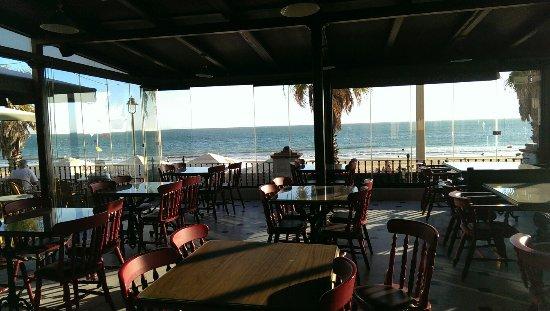Hotel Playa de Regla: Terraza para desayunar.