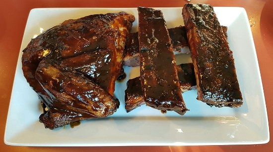 Blazin BBQ: Refill of all you can eat Ribs & Chicken