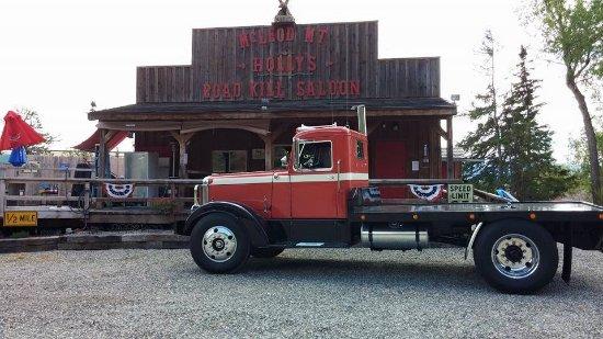 "Holly's Road Kill Saloon: ""Saloon"" An Adult, alcohol drinking establishment!"