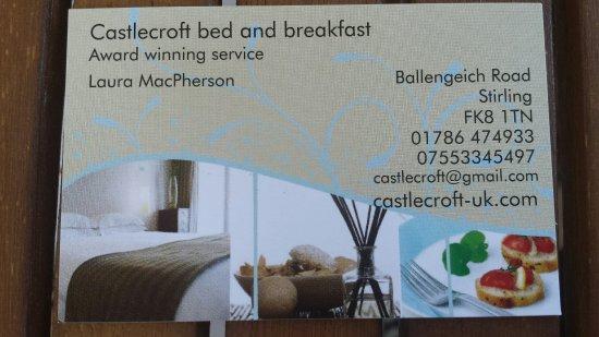 Castlecroft: Business Card