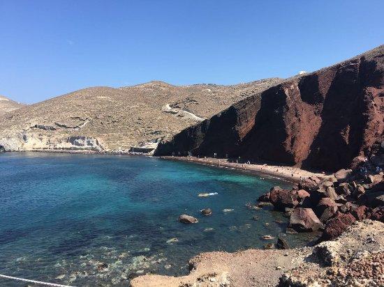 Plaża Red Beach Akrotiri: photo0.jpg