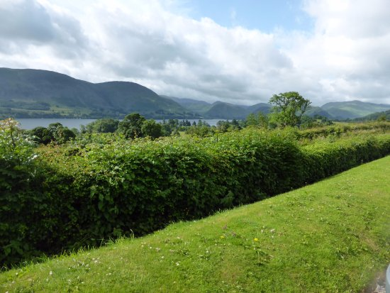 Looking over Ullswater from the Brackenrigg Inn