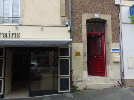 Chambres d'hotes Le Logis de Saint-Jean : Notre porte d'entrée