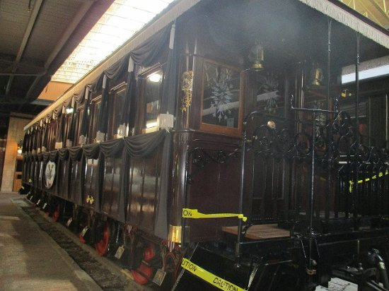 Lincoln S Funeral Car Picture Of Lake Superior Railroad Museum