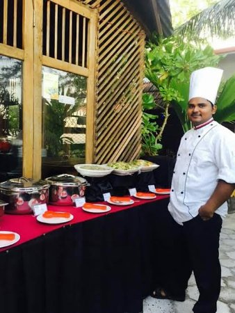 Addu Atoll: Palm Village Chef