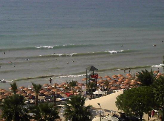 Ephesia Holiday Beach Club: Aussicht aus d. Zimmer