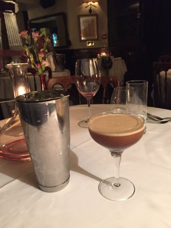 Staddlebridge, UK: Great espresso martini to top a fine dining experience