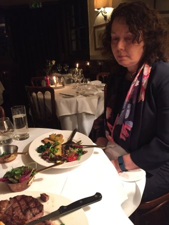 Staddlebridge, UK: Fine dining to celebrate a birthday