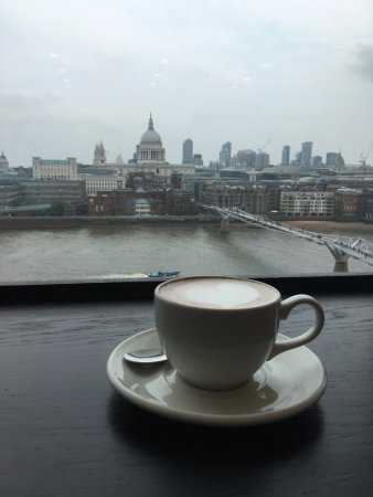 Kitchen and Bar : View From Tate Modern Restaurant