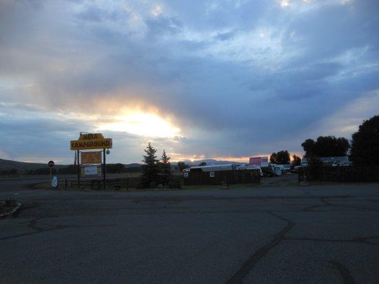 Mesa Campground : Sunrise at MESA