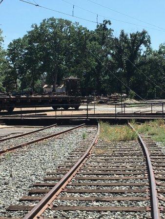 Τζέιμσταουν, Καλιφόρνια: My better pic wouldn't load, this is a glimpse of why it is called a Roundhouse