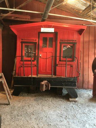 """Jamestown, CA: The """"prop"""" caboose from Back to the Future 3 that Marty was on"""