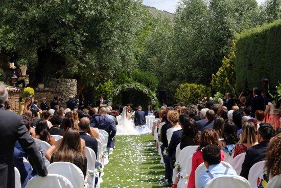 Aielli, Italien: Cerimonia all'aperto
