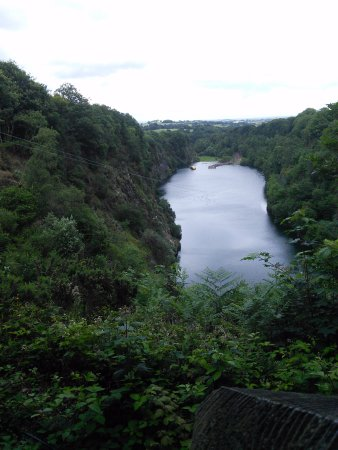 Menheniot, UK: The view from the top